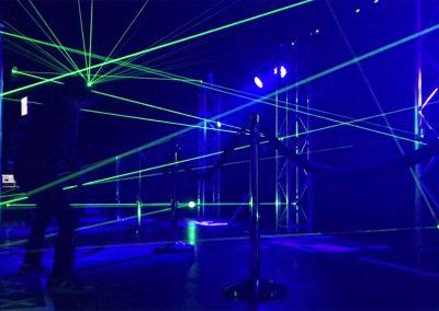 LaserMaze op locatie