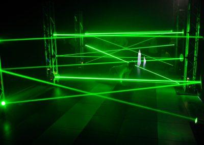 Deelnemer Laser opdracht