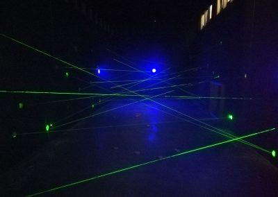 Locatie vaste LaserMaze